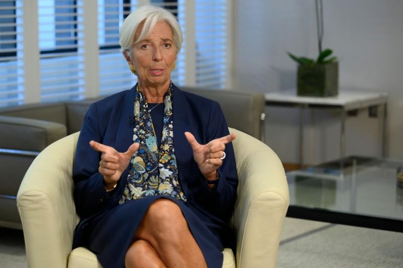 IMF前總裁拉加德示警︰全球經濟成長脆弱且面臨威脅