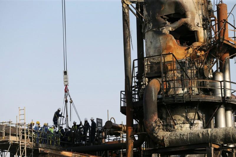 沙國油廠遇襲陰霾仍在 國際油價本週漲約6%