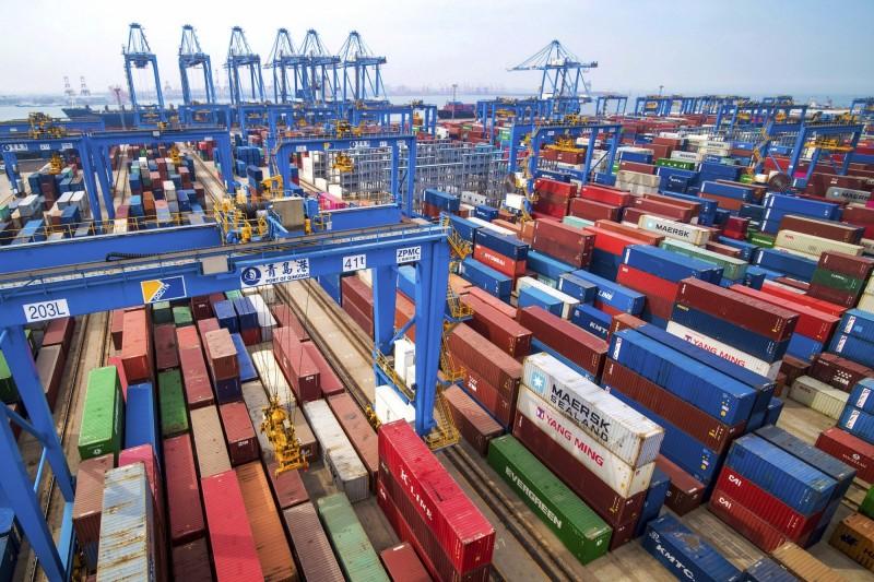 美中貿易戰衝擊 中對美貨櫃運輸量連7月萎縮