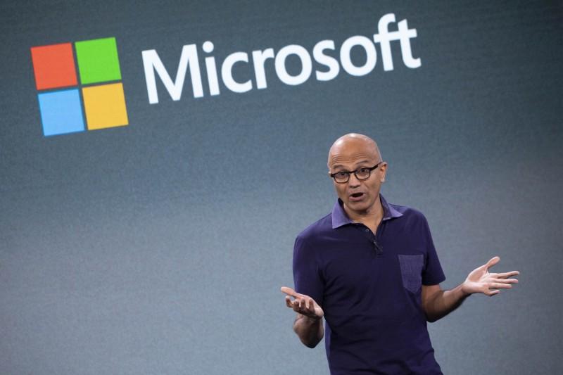 微軟業績強、股票漲 納德拉薪酬漲66%爽領13億