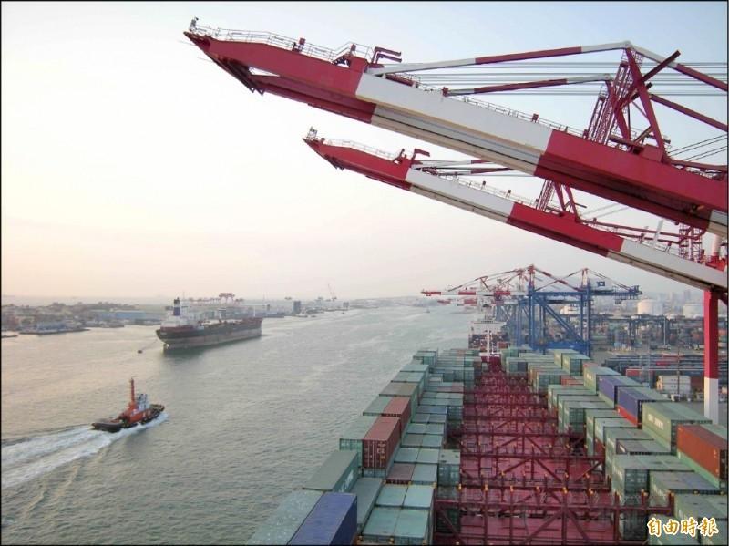 前9月台灣實質出口年增2.8%  亞洲四小龍唯一止穩向上!
