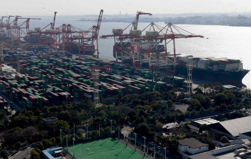 日本上半年全球貿易逆差2419億  出口大減5.3%