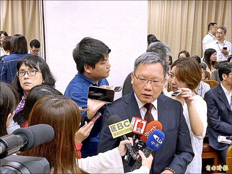 黃國昌轟囤房稅無作為 財長嗆:打房不是只有你能喊
