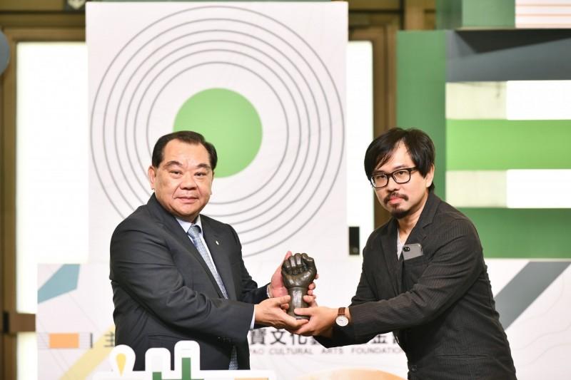 麗寶國際雕塑雙年獎  台灣戴士偉「時間/空間」獲首獎