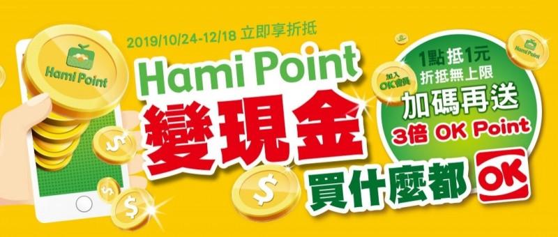 中華電信Hami Point攜手OK超商  全面搶攻點數市場