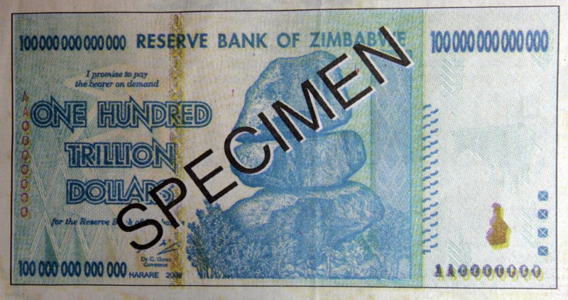 半條吐司賣100兆! 10年後  辛巴威宣佈重新發行貨幣