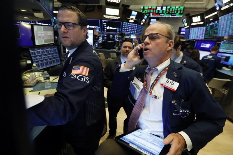 美中貿易談判存變數  道瓊跌逾百點