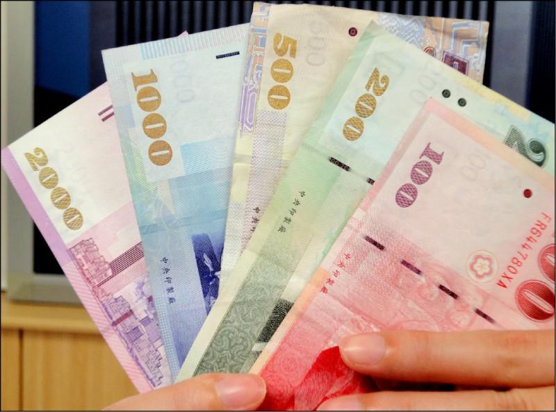外資匯出 新台幣貶值8.1分