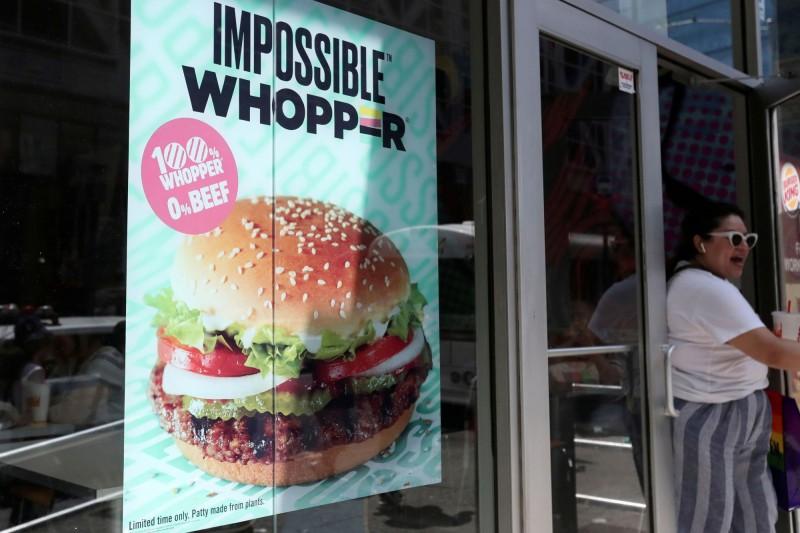 共用烤爐害無肉漢堡被「汙染」 漢堡王被告上法院