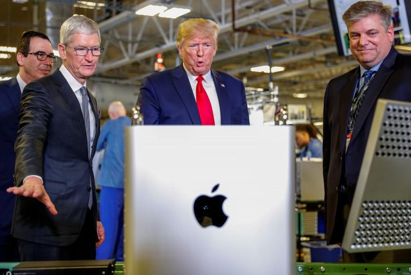 蘋果有望豁免下1輪新關稅? 川普:正在考慮