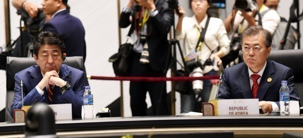外交解凍? 安倍、文在寅下月在中國磋商徵用工等議題