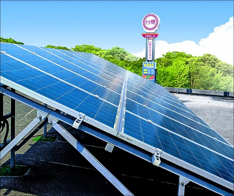 太陽光電費率 明年降幅3%以下