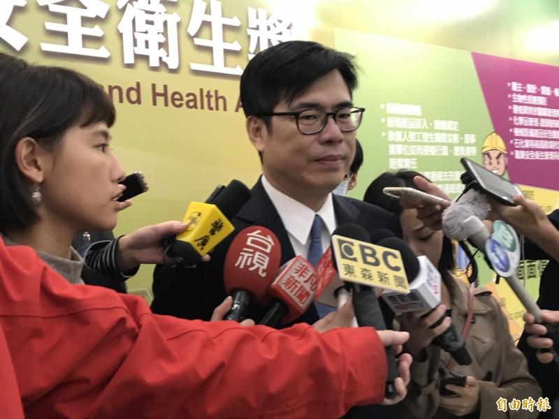 韓國瑜身陷關說砂石案爭議 陳其邁籲:面對質疑應要說清楚