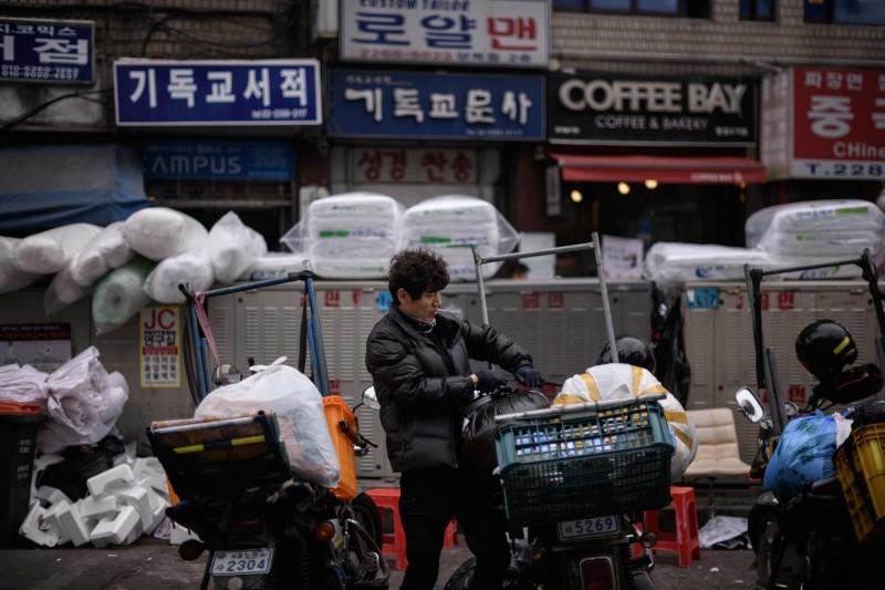 南韓國家債務增長速度  每秒過去就多約5.5萬