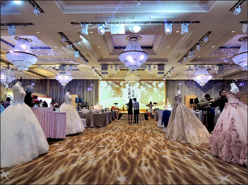 少子化衝擊婚宴市場 桌數縮減、業者尋對策