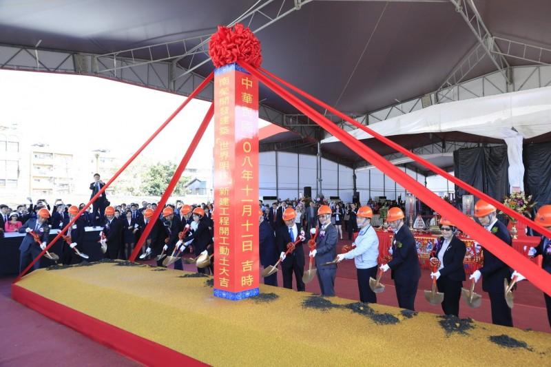 自家建案自己造勢 「世界明珠」每坪破110萬  創南港住宅新高
