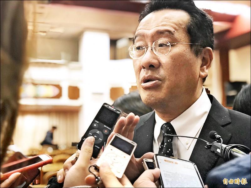 台灣金融排名大輸中國?顧立雄:評比機構與中友好