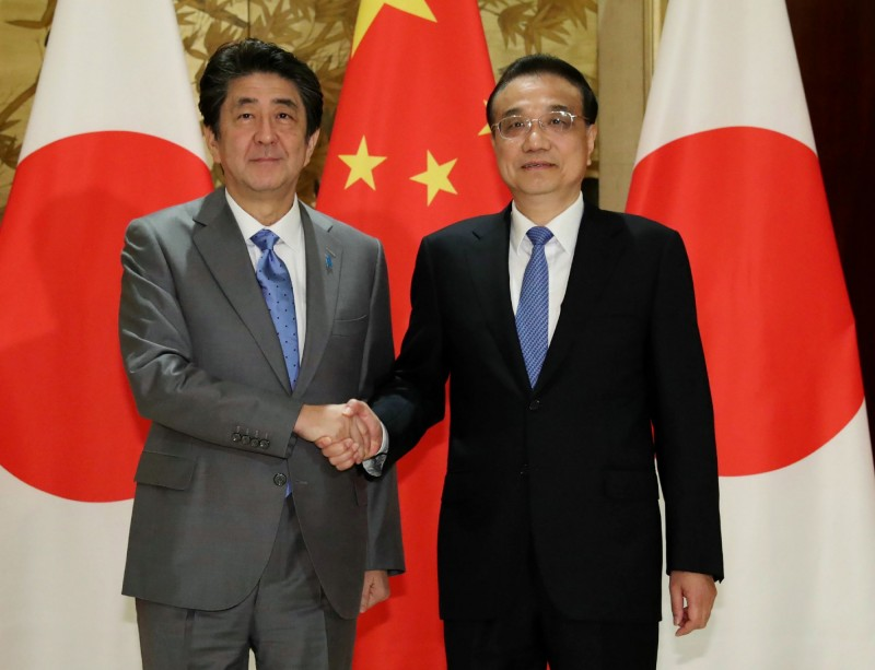 牽制中國?安倍晉三籲中國在他國開發  應確保透明度