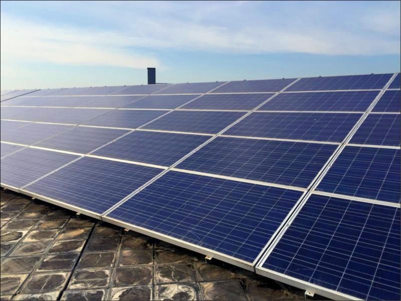 明年釋7國有地 設置太陽光電