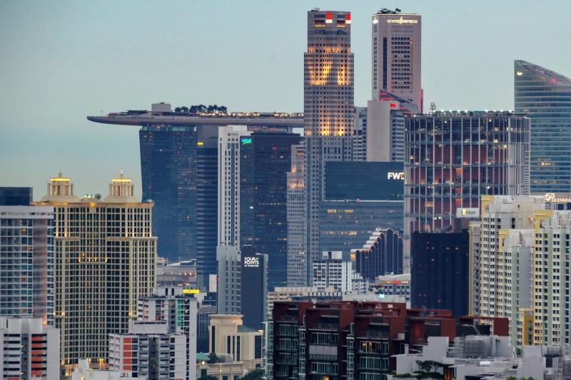 新加坡去年GDP成長剩0.7% 10年來最低