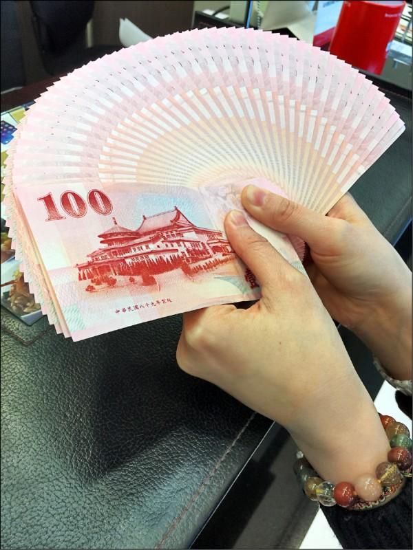台幣貶0.5分 收30.11元