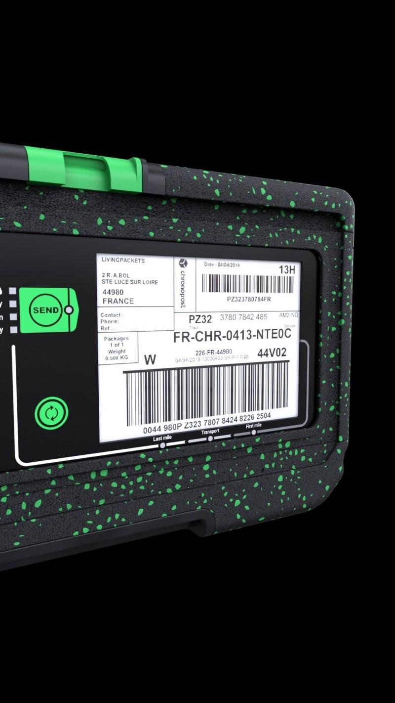 元太與LivingPackets共同推出智慧包裝盒 獲2020 CES創新獎