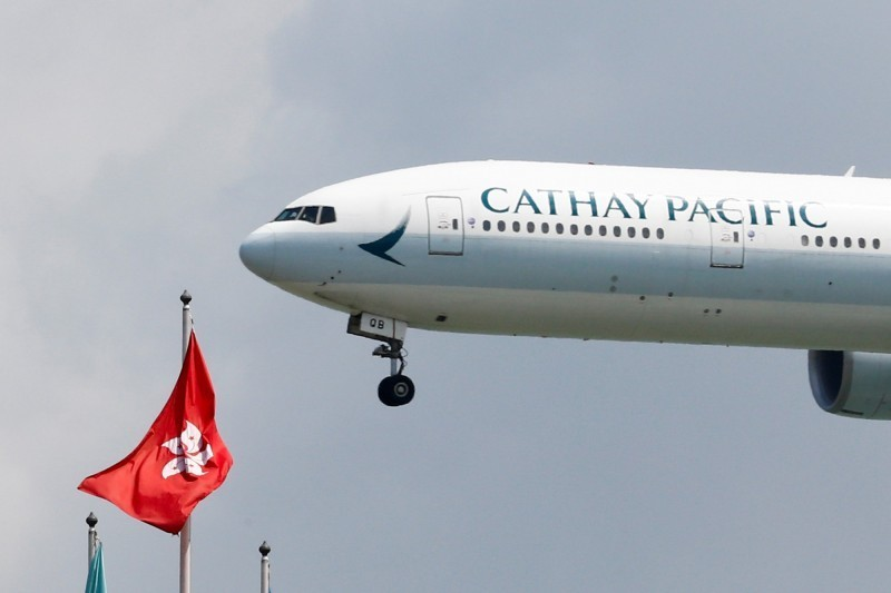 反送中衝擊 香港國泰航空鼓勵員工休無薪假降成本