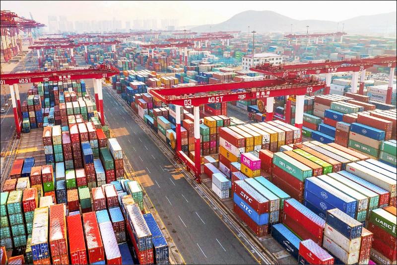 貿易戰重挫 中對美貿易衰退10.7%