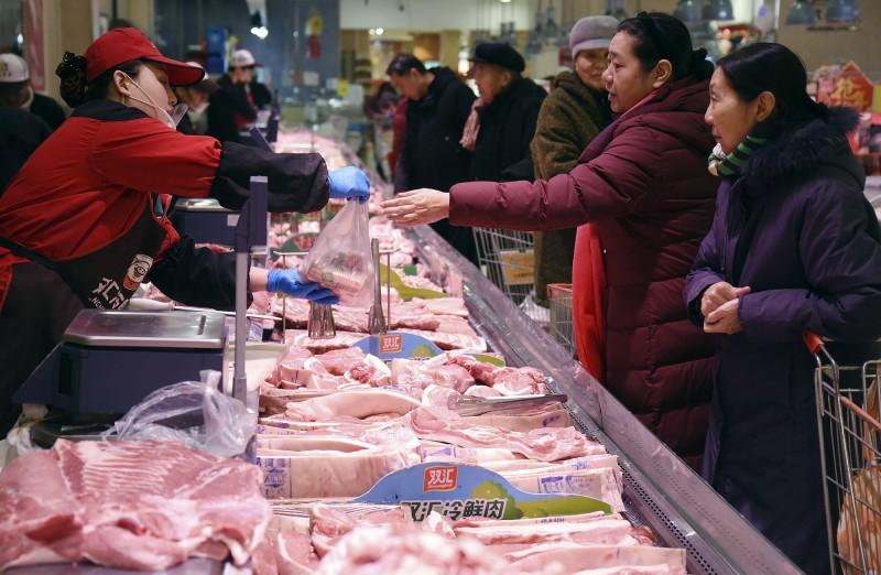 非洲豬瘟肆虐 中國去年豬肉產量創16年來新低