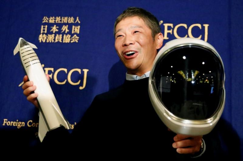 日本富豪徵女友上月球!報名人數突破2萬人