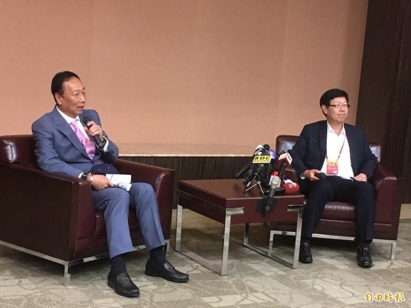 疾呼國家重視育幼政策! 郭台銘:台灣需人才發展高科技
