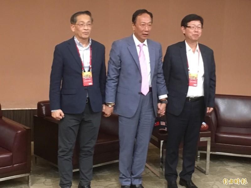 郭台銘:劉揚偉董事長做得比我好 股價比我在時高