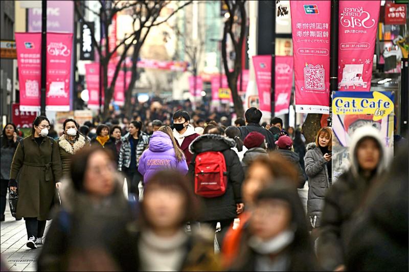 南韓2019年GDP僅2% 創金融海嘯後最低