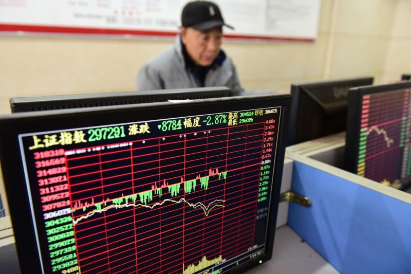 武漢肺炎》中國股市封關日暴跌2.75% 港股重挫431點
