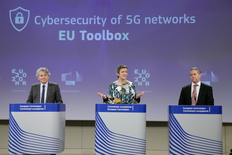 歐盟發布5G安全指引 未封殺華為參與網路建設