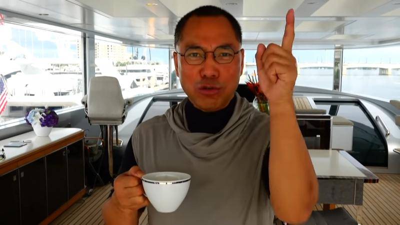 武漢肺炎》願捐10億個口罩到中國!郭文貴:我拿不出來就是騙子