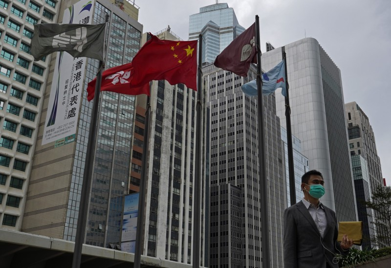 武漢肺炎》致命一擊 彭博:完美風暴撲向香港經濟