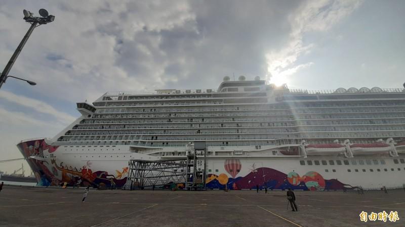 武漢肺炎》禁國際郵輪靠泊 港務公司估影響112艘次、14.4萬人次