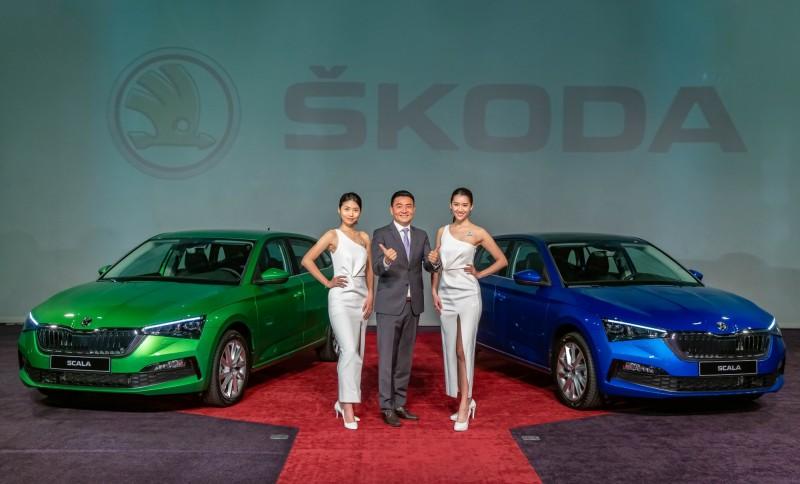 有中文介面了! Škoda SCALA入門價83.9萬元起