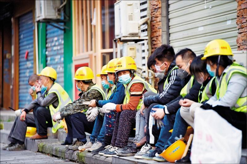 武漢肺炎》中國吹噓復工 中小企多還未上工
