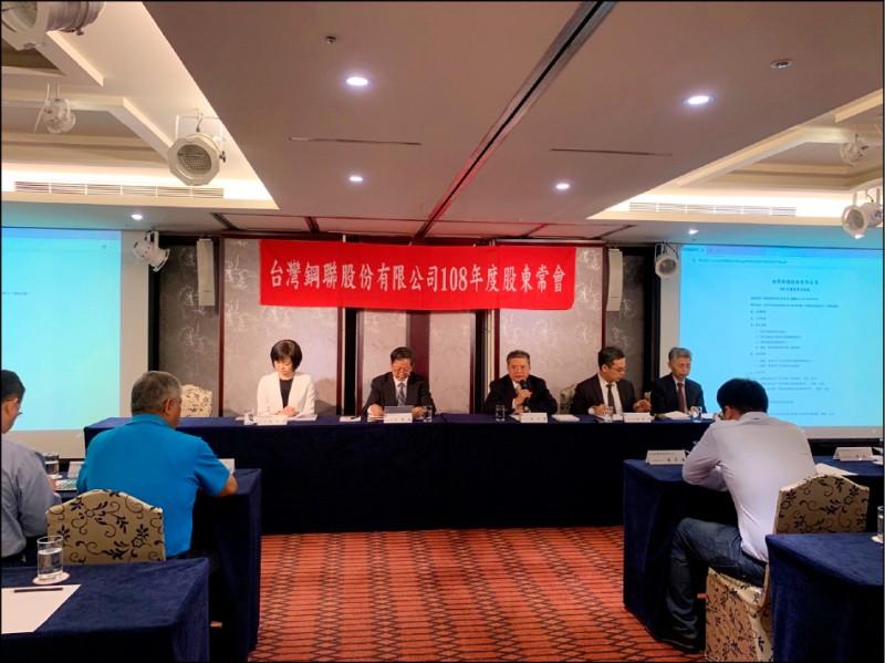 去年獲利減49% 台灣鋼聯今年拚持平