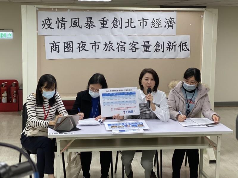 武漢肺炎》台北市各商圈人潮少3至5成 議員:慘狀直追金融海嘯!