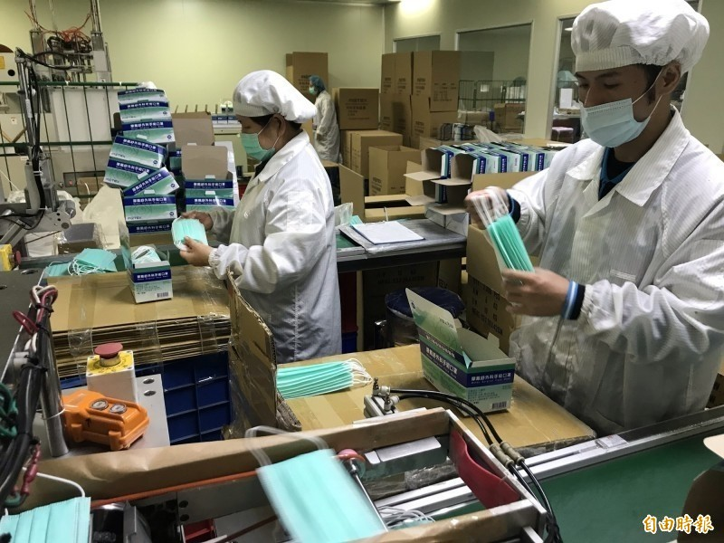 2月仍有千萬片口罩出口 防花粉口罩800萬片輸往日本
