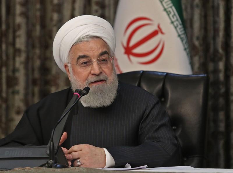 武漢肺炎》川普稱願助伊朗抗疫 羅哈尼回嗆:先解除藥品制裁