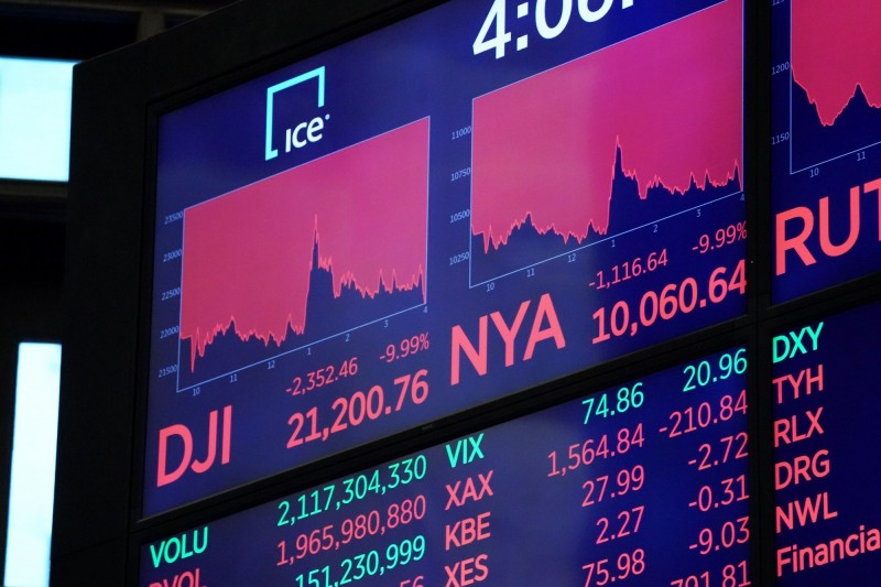 市值蒸發12.7兆!美5大科技巨頭全面收低