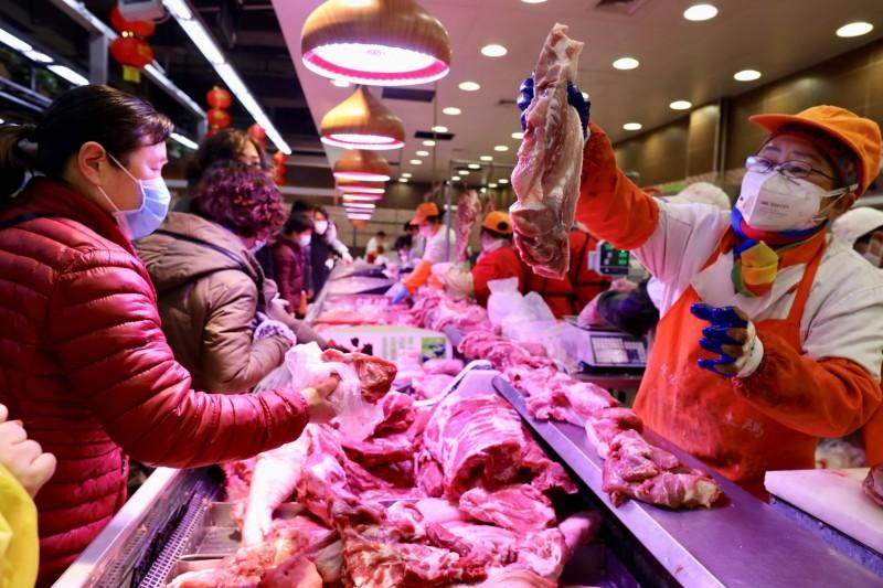 武漢肺炎》疫情衝擊恐致中國豬肉短缺  原因是...