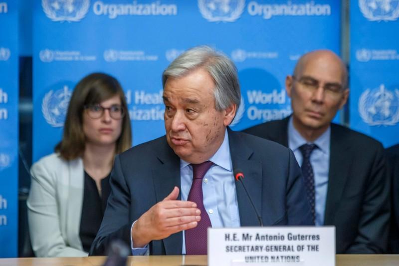 聯合國秘書長:全球經濟幾乎肯定會衰退