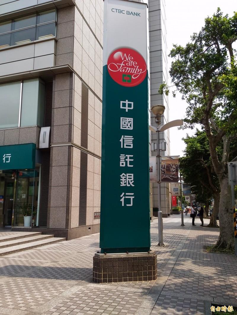 中國信託響應房貸、信貸等降息措施  最高降息0.75個百分點