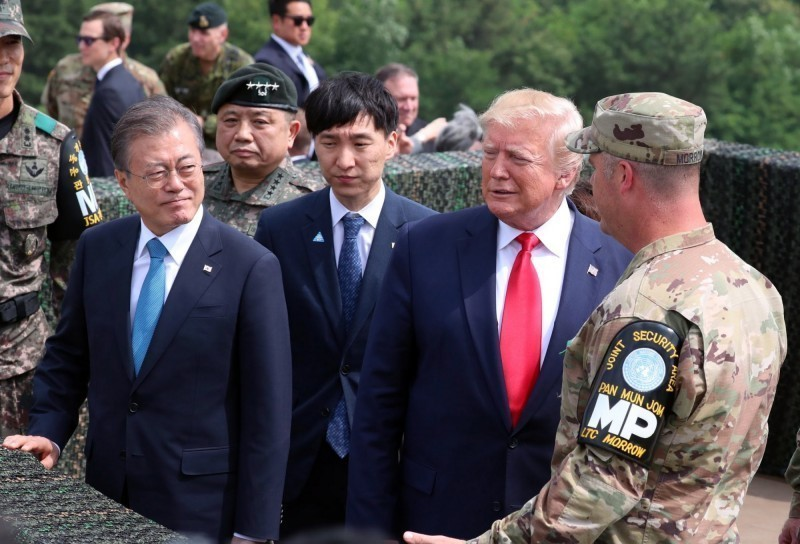 韓美防衛費分擔協定仍未果 美軍韓籍僱員開始放無薪假