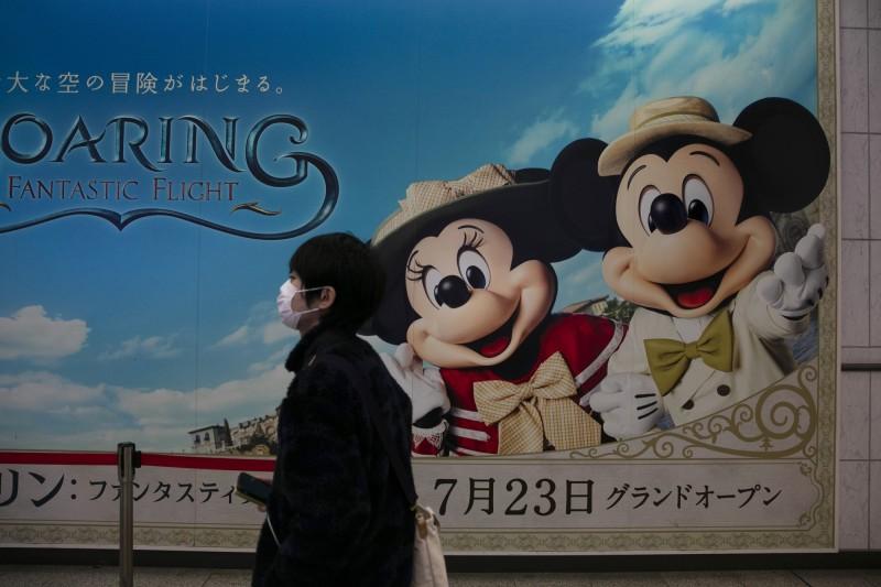 武漢肺炎》無營收能撐3個月!東京迪士尼營運商股價不跌反漲